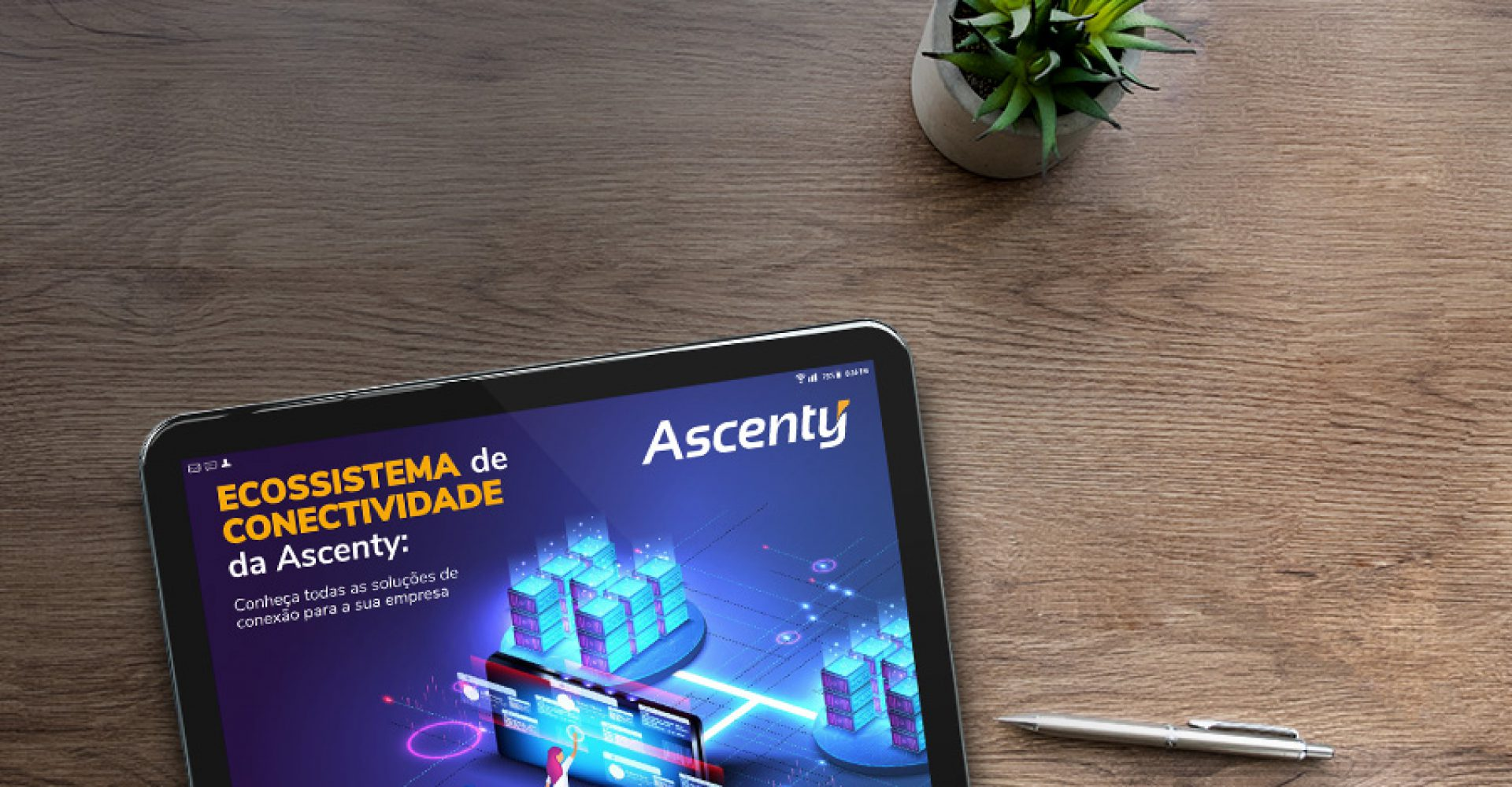 E-Book: Ecossistema de conectividade Ascenty