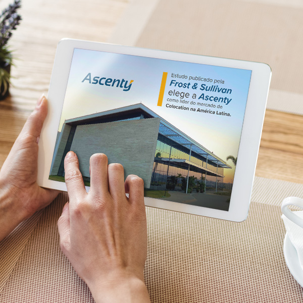 Ascenty é líder do mercado de Colocation na América Latina, aponta estudo publicado pela Frost & Sullivan