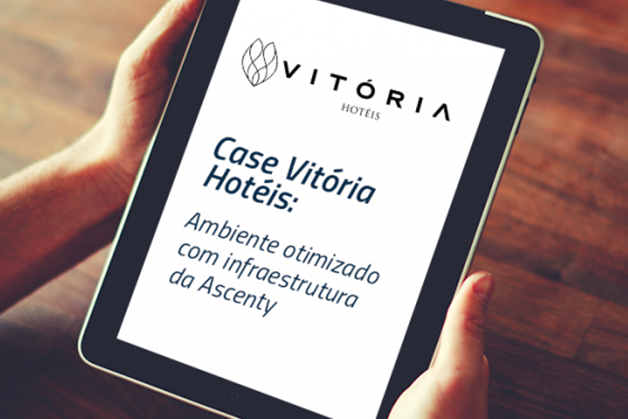 Vitória Hotels enhances its IT environment with Ascenty infrastructure
